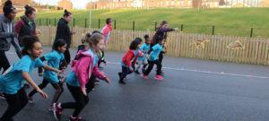 Our Mini-Mermaids ran 5k!