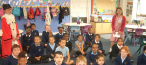 Leeds Childrens' Lord Mayor visited us for 'Generous June'