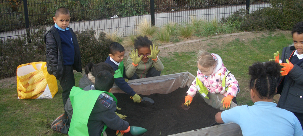 Say hello to our Gardening club!