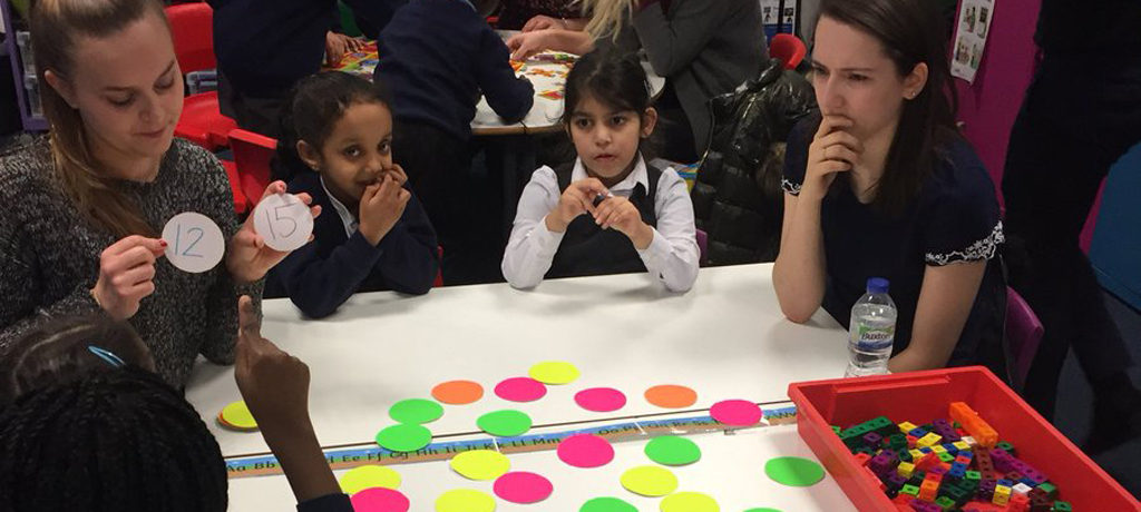 Maths games with Leeds Beckett
