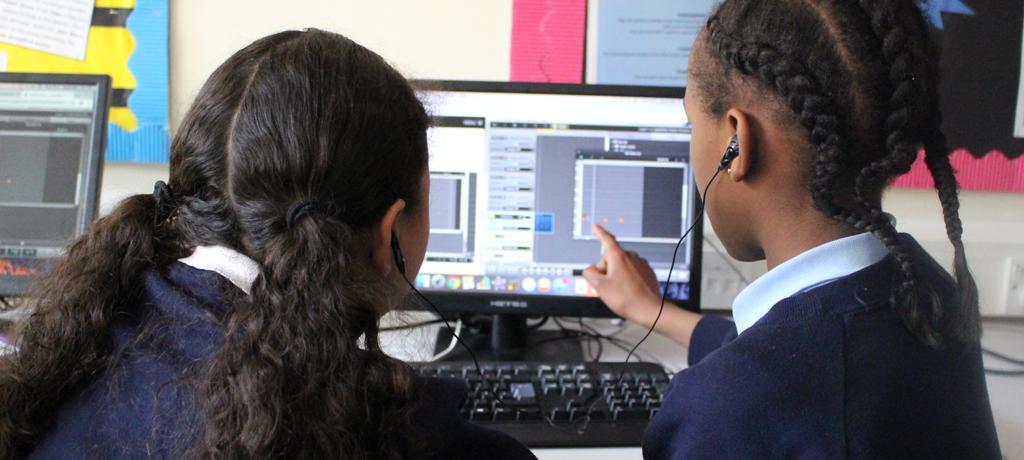 DJ workshop at Co-op Academy Leeds