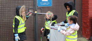 School council go litter picking for the Great British Spring Clean!