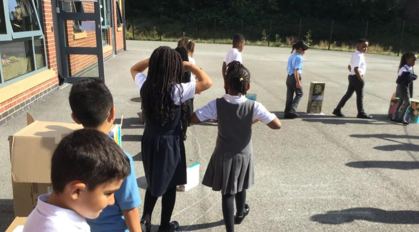 Year 2 are changing Harehills for the better!